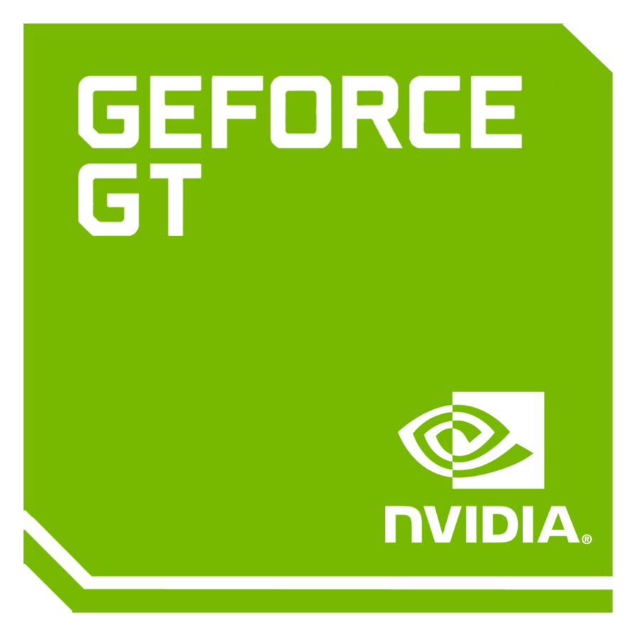 original logo nvidia geforce mobile gt by 18cjoj d75221h