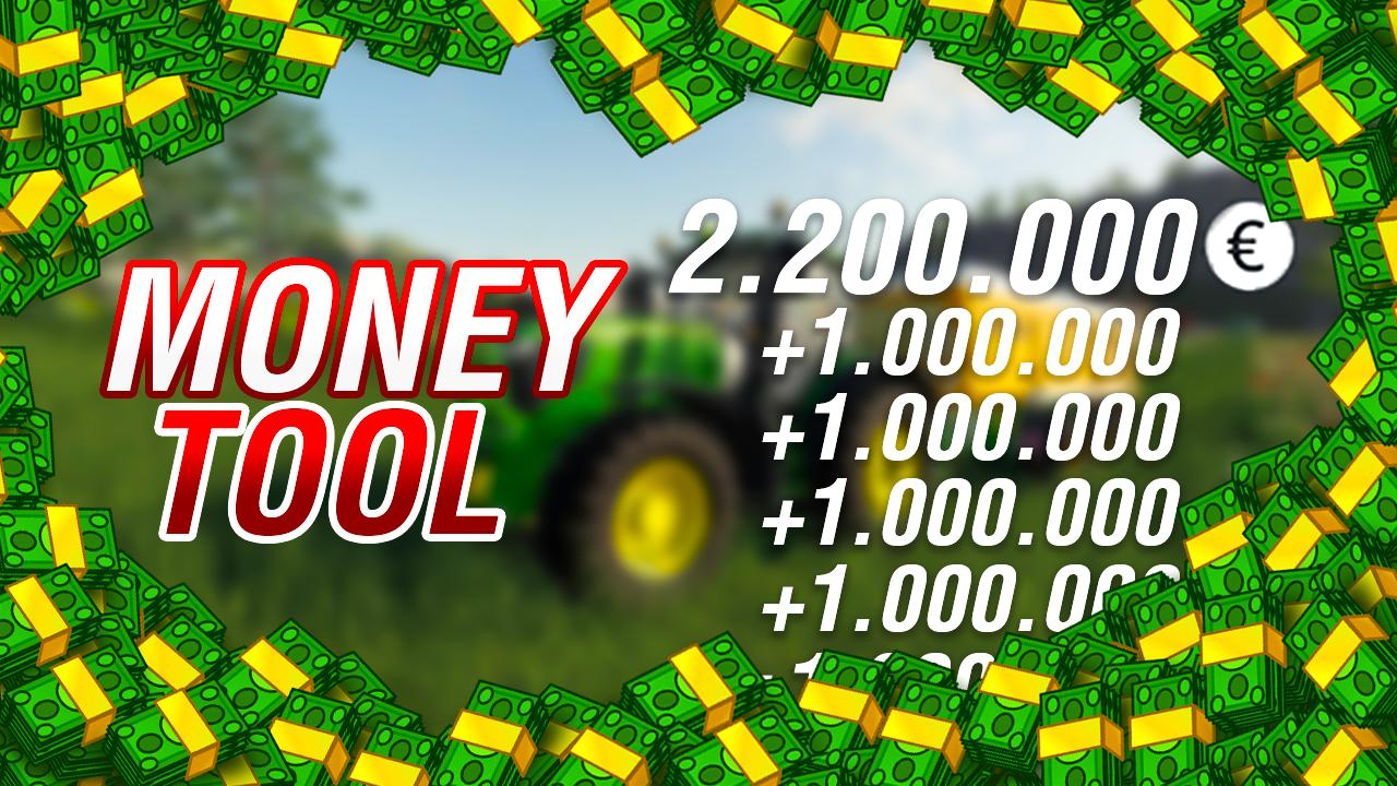 1 Money Tool cheat FS19